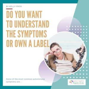 Symptoms or Label Post cover image