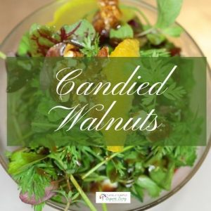 Spiced Candied Walnuts recipe image
