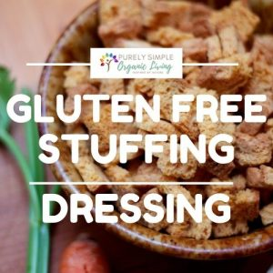 Gluten Free Stuffing recipe image